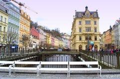 Karlovy Vary view Stock Photography