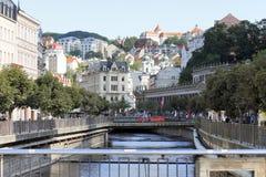 Karlovy Vary - Weltbadekurort Lizenzfreie Stockfotografie