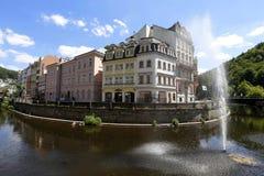 Karlovy Zmienia krajobraz Zdjęcia Royalty Free