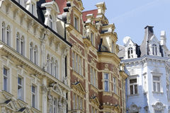 Karlovy Zmienia krajobraz Zdjęcie Royalty Free