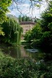Karlovy Zmienia, parkuje, ogród Zdjęcie Royalty Free