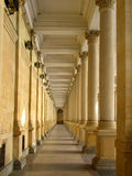 Karlsbad colonnade Stock Photo