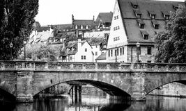 Karlsbruecke Nuernberg Royalty Free Stock Photos
