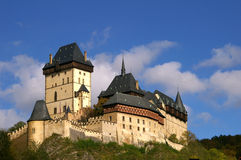 Karlshtein castle Royalty Free Stock Images
