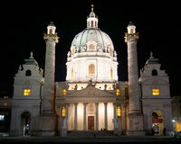 Karlskirche à Vienne image stock