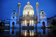 Karlskirche Stock Photography