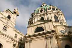 Karlskirche Royalty Free Stock Photo