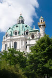 Karlskirche Royalty Free Stock Photos