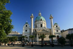 Karlskirche Royalty Free Stock Images