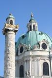 Karlskirche Royalty-vrije Stock Foto
