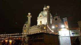 Karlskirche Fotografie Stock
