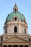 Karlskirche Church in Vienna, Austria Stock Photo