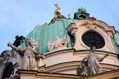 Karlskirche Church in Vienna, Austria Stock Photography