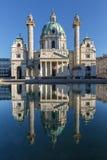 Karlskirche church in Vienna Stock Photography