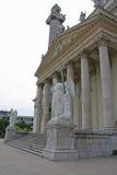Karlskirche (kyrka för St Charless) Arkivbilder
