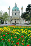 Karlskirche no. 2 royalty free stock photos