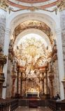 Karlskirche o st Charles Church Fotografie Stock Libere da Diritti