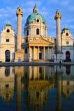 Karlskirche Vienna Stock Photography