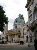 Karlskirche (St. Charles's Church), Vienna, Austria Royalty Free Stock Photo