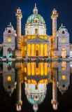 Karlskirche or St. Charles's Church Royalty Free Stock Photo
