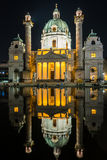 Karlskirche or St. Charles's Church Royalty Free Stock Photos