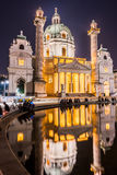 Karlskirche or St. Charles's Church Stock Photography