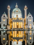 Karlskirche or St. Charles's Church Royalty Free Stock Images