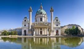 Karlskirche, Viena imagen de archivo