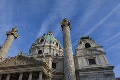 Karlskirche, Viena Imagens de Stock