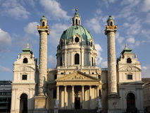 Karlskirche in Vienna Stock Images