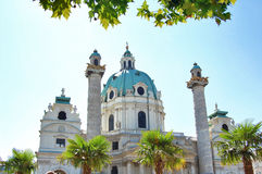 Karlskirche in Vienna Royalty Free Stock Image