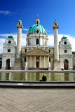 Karlskirche in Vienna Royalty Free Stock Photography