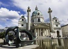 Karlskirche, Vienna Fotografia Stock