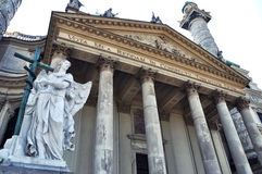 Karlskirche a Vienna Fotografia Stock Libera da Diritti