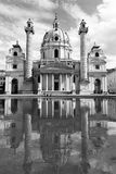 Karlskirche, Vienna Royalty Free Stock Photography
