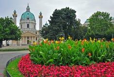 Karlskirche, Vienna Stock Images