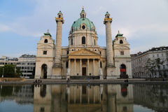 Karlskirche Vienna Royalty Free Stock Image