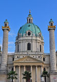 Karlskirche in Vienna Royalty Free Stock Photo