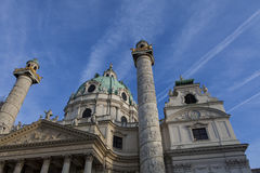 Karlskirche, Vienne Images stock
