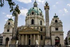 Karlskirche w Wiedeń, Zdjęcia Royalty Free