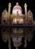 Karlskirche, Wien Lizenzfreies Stockfoto