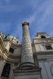 Karlskirche, Wien Stockfotos