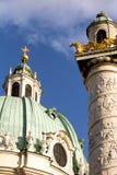 Karlskirche Wien Royalty-vrije Stock Afbeeldingen
