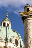 Karlskirche Wien. Saint Charles Church Vienna Karlskirche Wien Royalty Free Stock Images