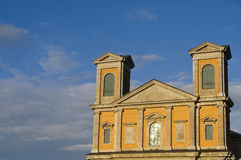 Karlskrona cathedral royalty free stock photography