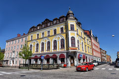 Karlskrona,  city center Royalty Free Stock Photography