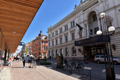 Karlskrona,  city center Stock Image