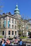 Karlskrona,  city center Royalty Free Stock Photo