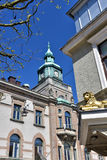 Karlskrona,  city center Royalty Free Stock Image