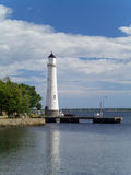 Karlskrona Lighthouse. Lighthouse in Karlskrona, Sweden Stock Photos